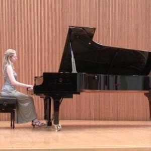 Kendall Kelly, Pianist, At The Piano (senior Recital)